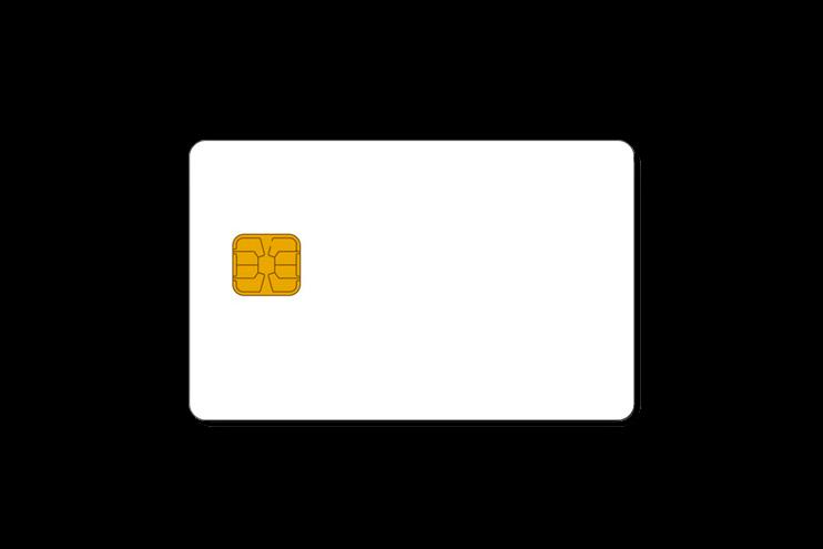 tarjetas chip sin contactos - TARJETAS PLÁSTICAS DE PVC