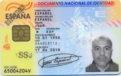 dni chip criptograficos - 75 Aniversario del primer documento nacional de Identidad