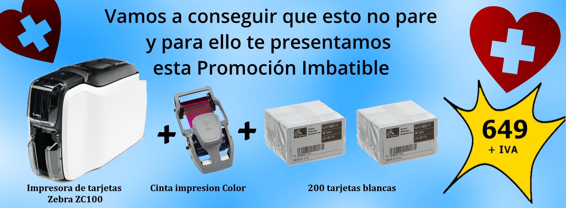 Campaña Covid 19 - Sipcards: La mejor oferta de Impresoras y tarjetas PVC